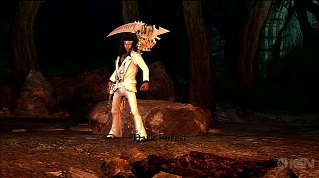 Dante's Inferno (Divine Edition) PlayStation 3 Gameplay - The Darkest Forest