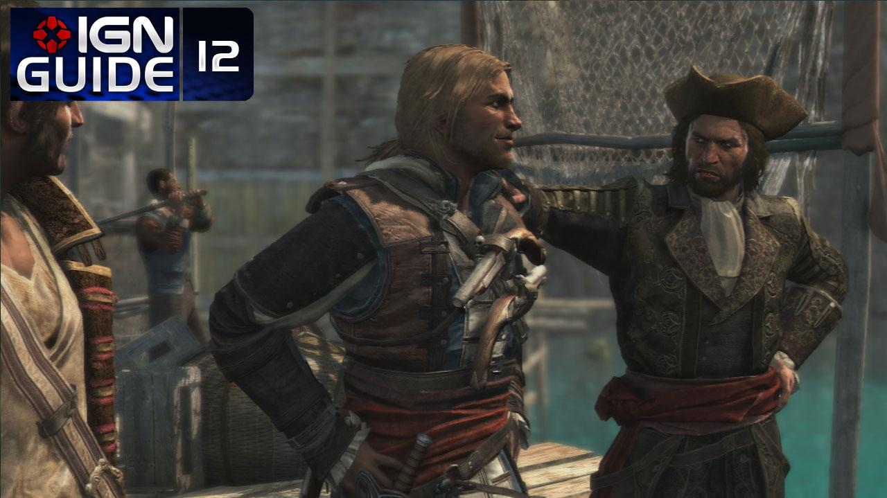 Assassin's Creed 4 Walkthrough - Sequence 03 Memory 04 Raise the Black Flag (100% Sync)