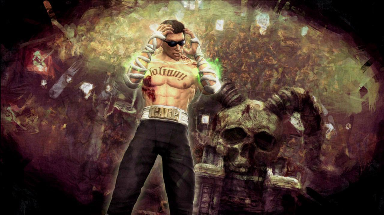 Mortal Kombat Johnny Cage Ending Video