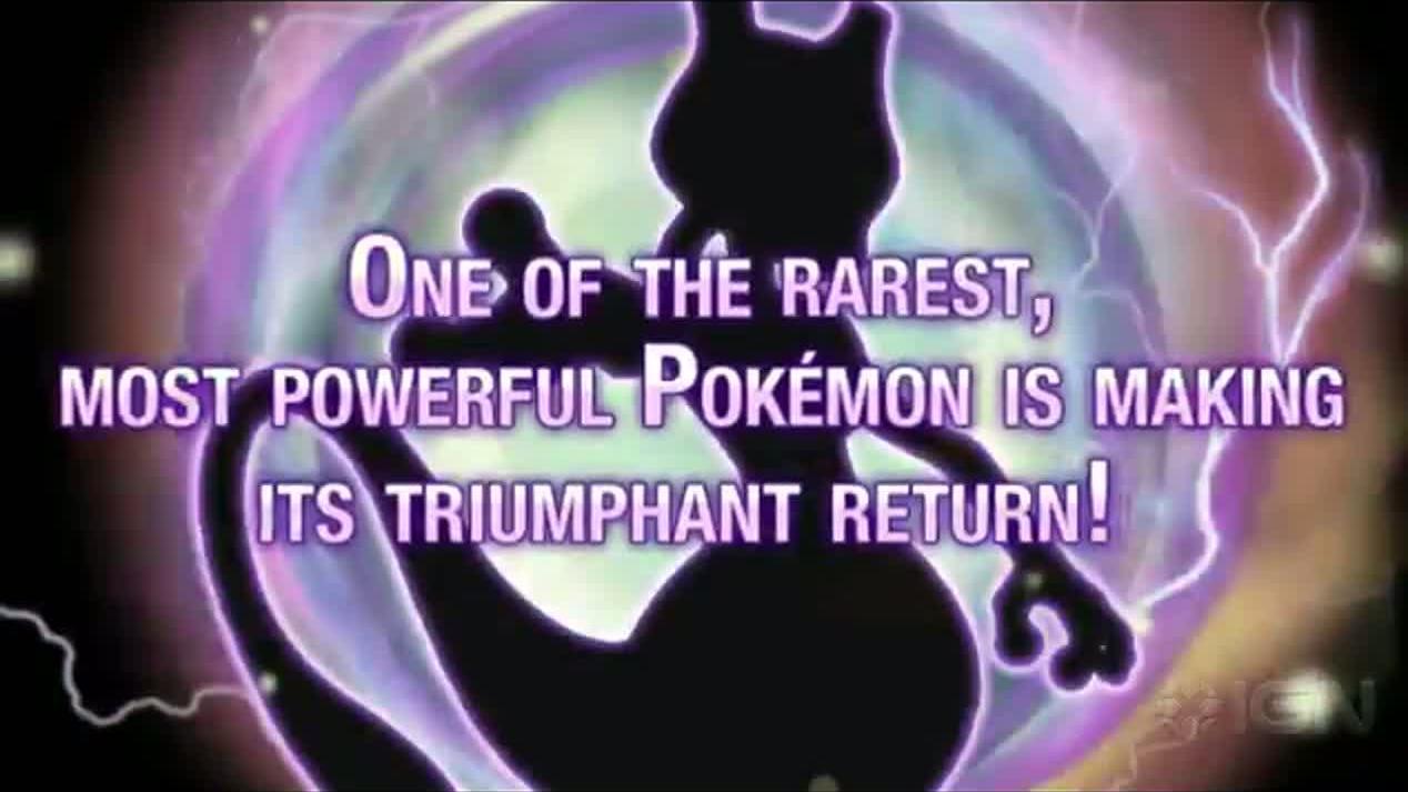 Pokemon catch Mewtwo This Feburary