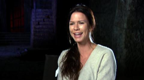 "Underworld Rise Of The Lycans (2009) - Interview Rhona Mitra ""On the experience of making the film"""