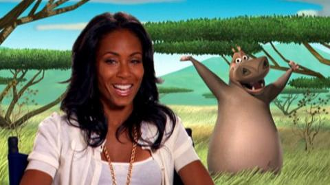 """Madagascar Escape 2 Africa (2008) - Interview Jada Pinkett Smith """"On coming back to do the sequel"""""""