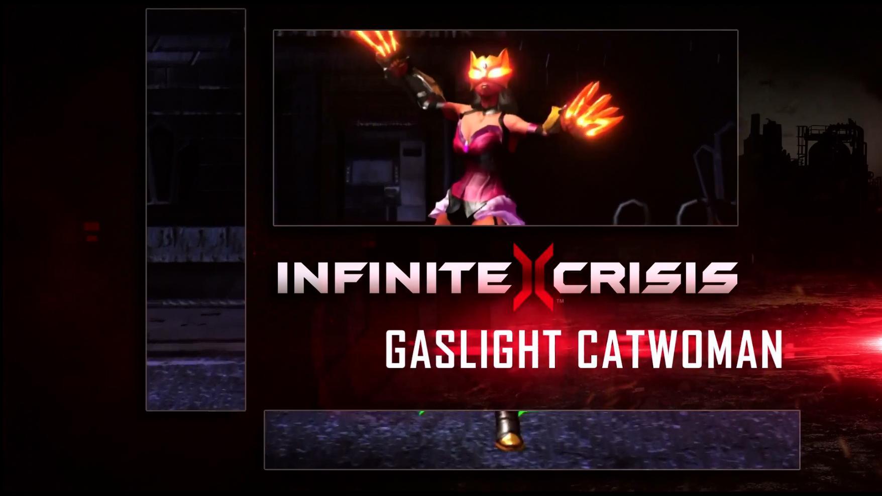 Infinite Crisis Profile Gaslight Catwoman
