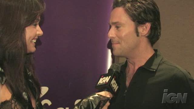 Battlestar Galactica (2004) TV Interview - James Callis - NYCC 07