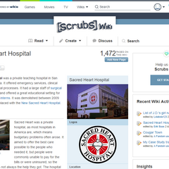 The page header when first viewed