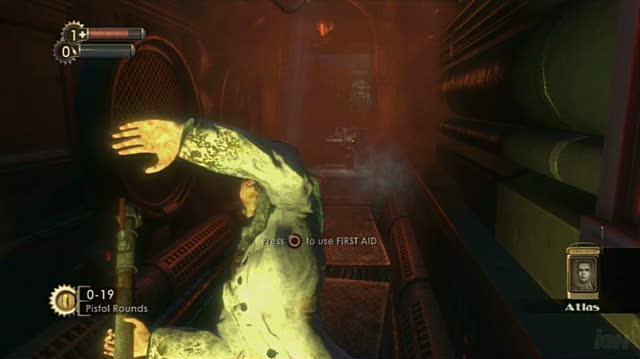 BioShock PlayStation 3 Gameplay - Access Denied