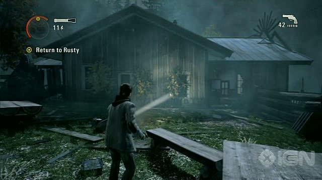 Alan Wake X360 - Walkthrough - Alan Wake - Nightmare Difficulty - Episode 2 - Rusty