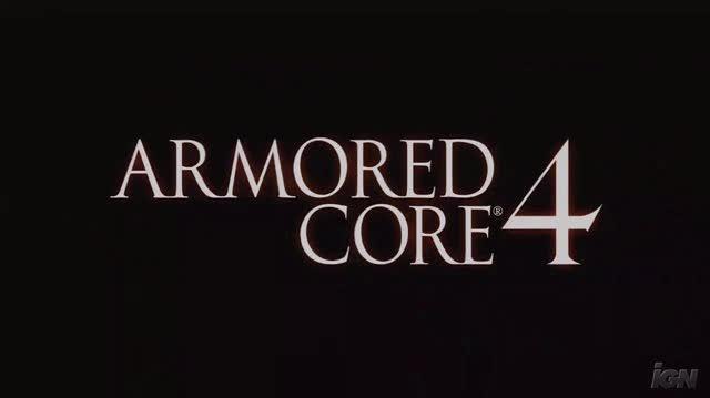 Armored Core 4 Xbox 360 Trailer - Launch Trailer (HD)