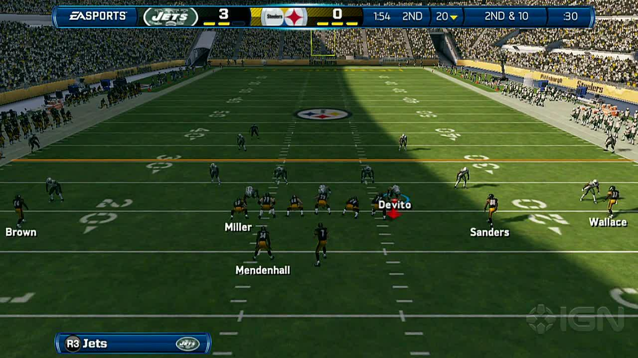 Madden NFL 13 Watch out for Big Ben