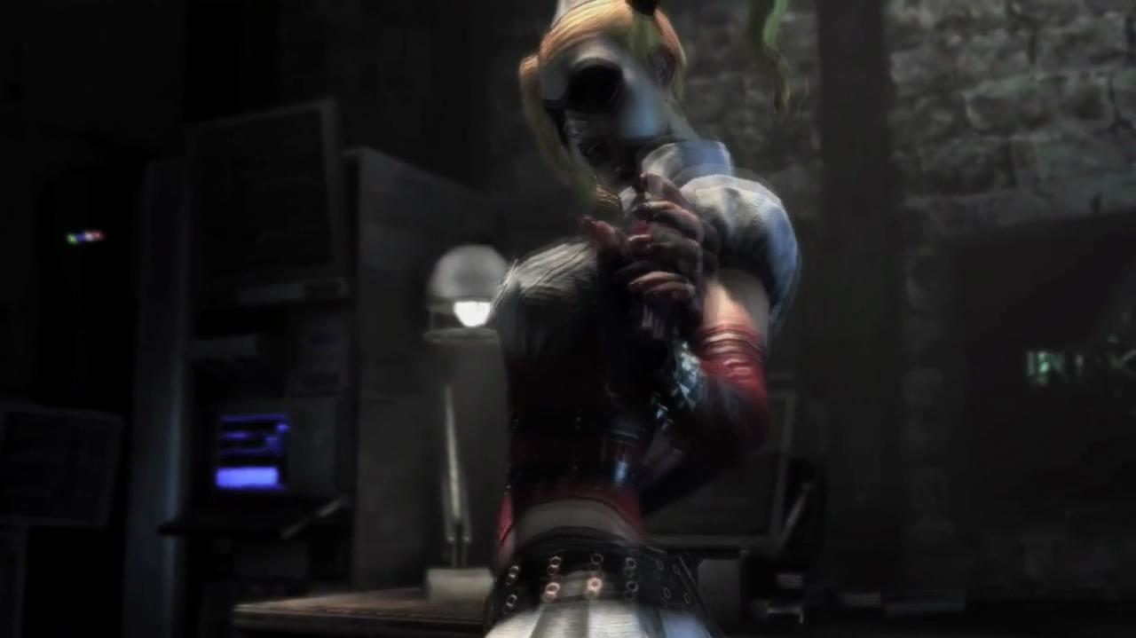Batman Arkham City Behind Harley's Hot Moves