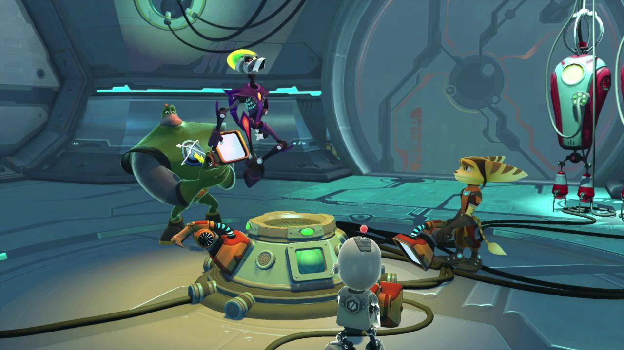 Gamescom Ratchet & Clank All 4 One Trailer