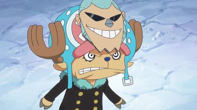 One Piece - Episode 593 - Save Nami! Luffy's Fight On the Snow-Capped Mountains!