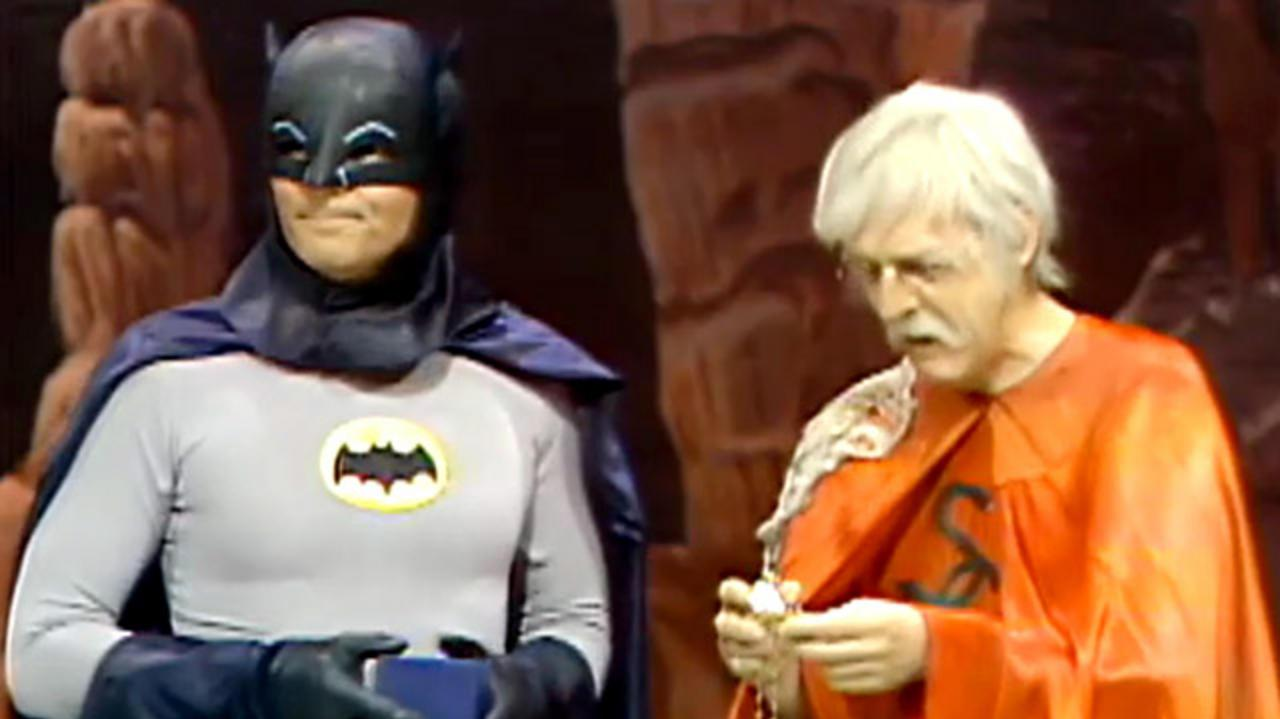 Legends of the Superheroes - Batman & Retired Man