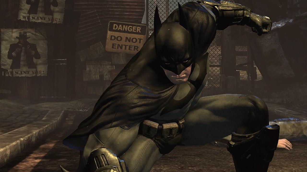Batman Arkham City Video Interview