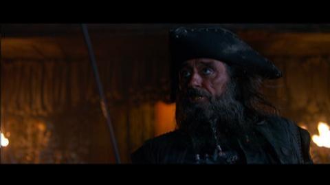 Pirates of the Caribbean On Stranger Tides (2011) - Clip Blackbeard