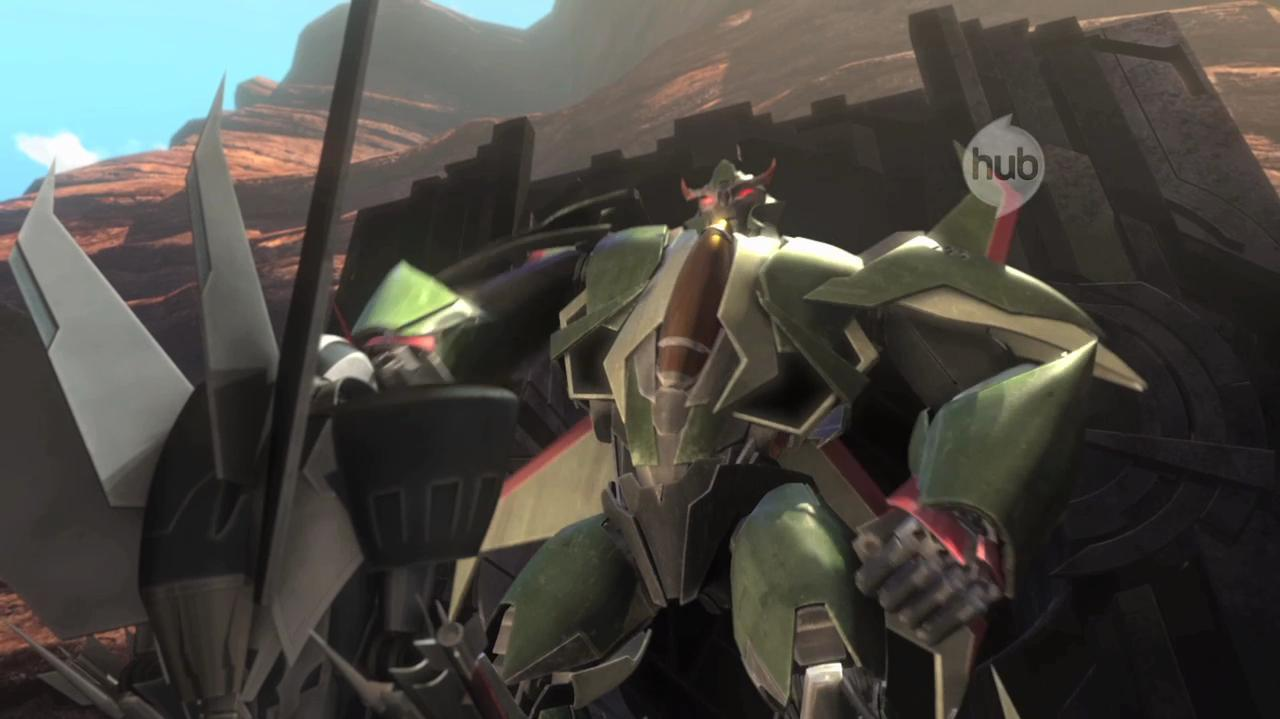 Transformers Prime - Exclusive Clip Meet Skyquake!