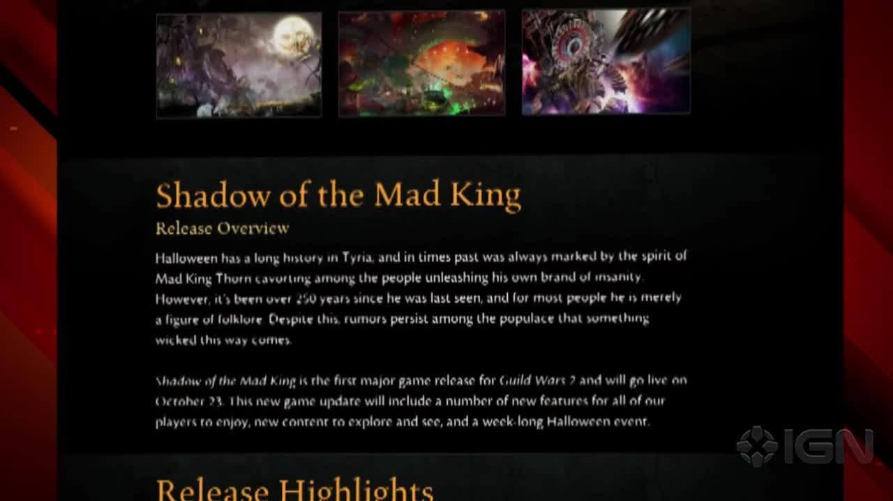 News Guild Wars 2 Details Halloween Event