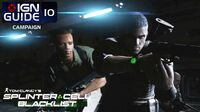 Splinter Cell Blacklist Perfectionist Walkthrough Part 10 - Airstrip