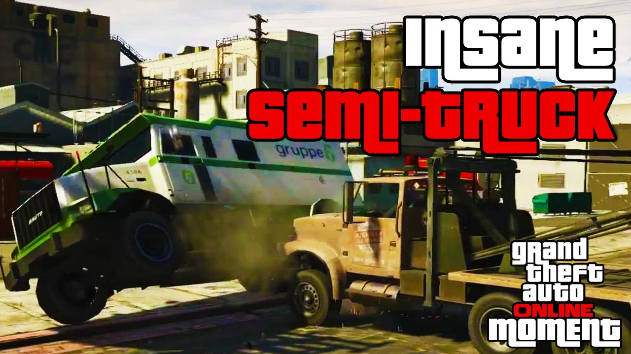 Insane Semi-Truck Showdown - GTA Online
