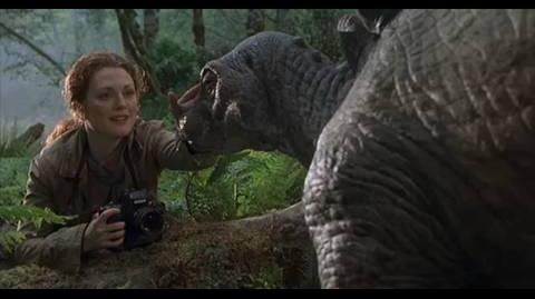 The Lost World Jurassic Park - baby photographing