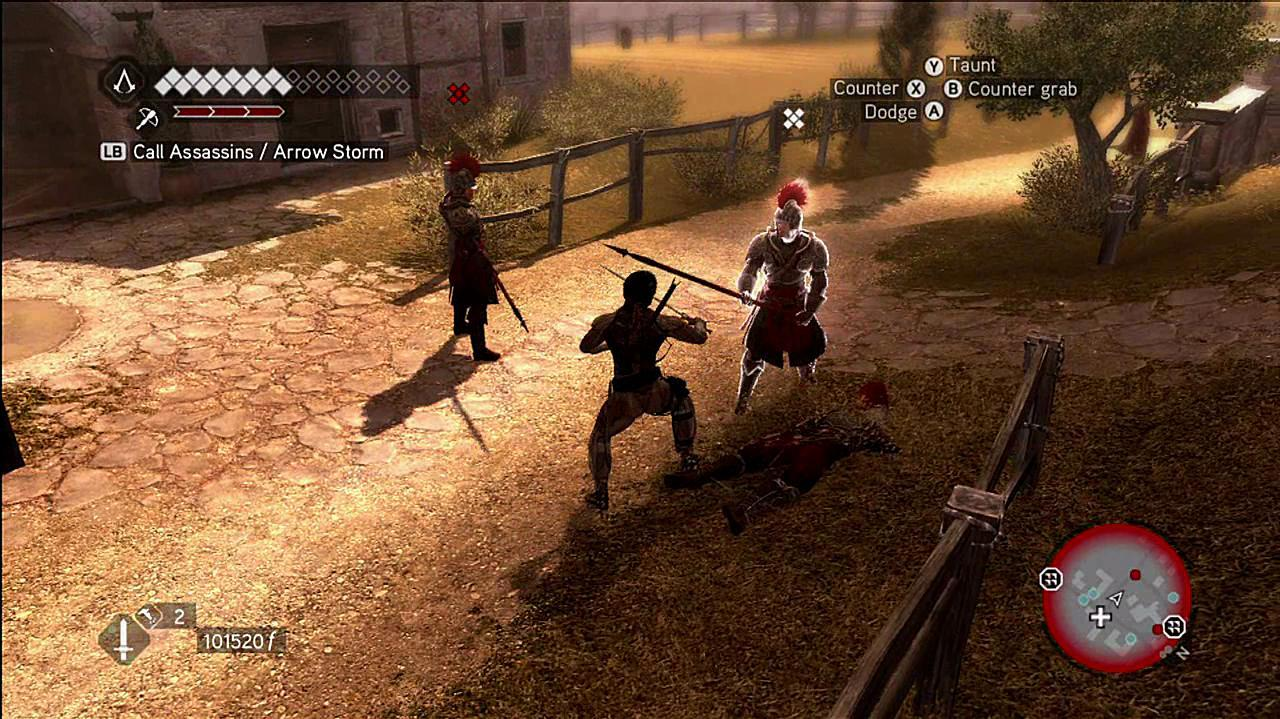 Assassin's Creed Brotherhood Killing for Rose Gameplay
