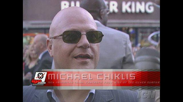 Fantastic Four Rise of the Silver Surfer Movie Interview - Michael Chiklis
