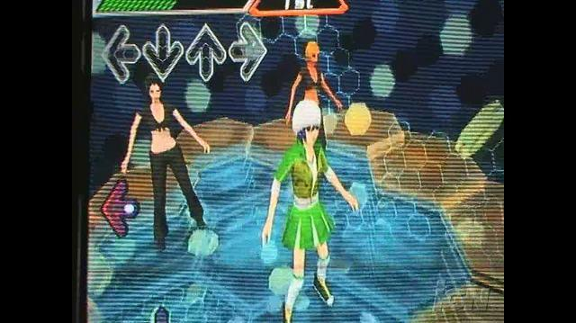 Dance Dance Revolution Hottest Party Nintendo Wii Gameplay - Hand Moves Are Symbols (Off-Screen)