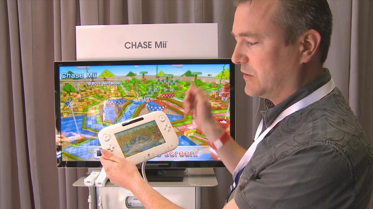 E3 2011 Wii U Chase Mii HD Demo