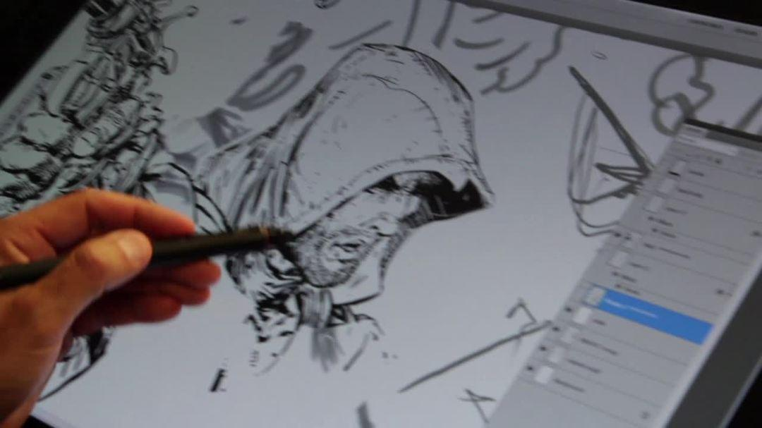 Assassin's Creed IV Black Flag Making of Poster Art
