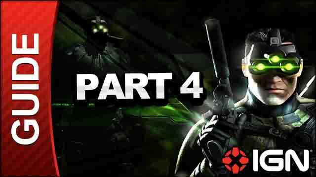 Tom Clancy's Splinter Cell Pandora Tomorrow HD - Saulnier Cryogenics Lab, Paris, France - Walkthrough (Part 4)