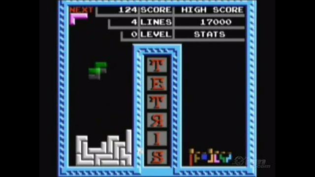 Tetris (Tengen) Retro Game Gameplay - Gameplay