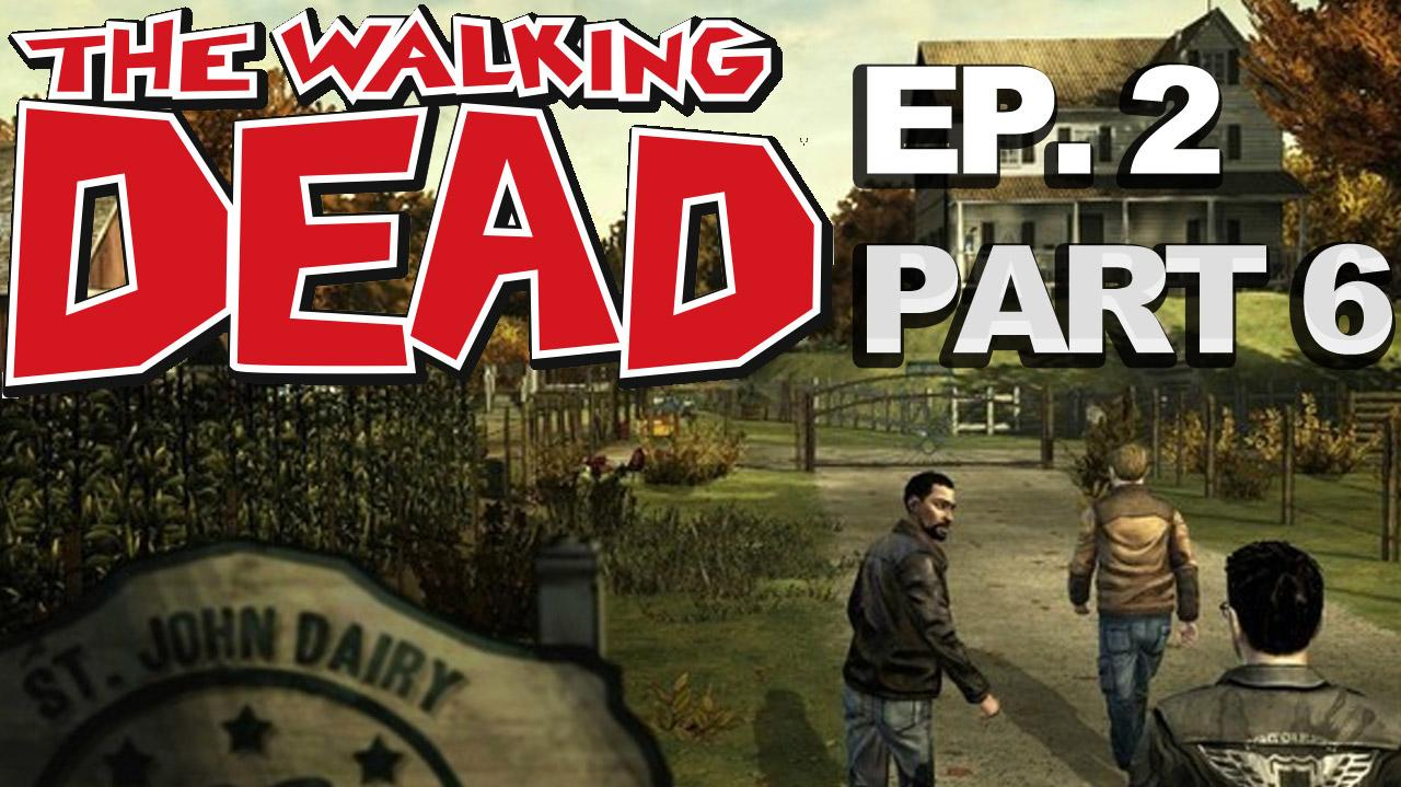 *Spoilers* The Walking Dead The Game Episode 2 Walkthrough Part 6