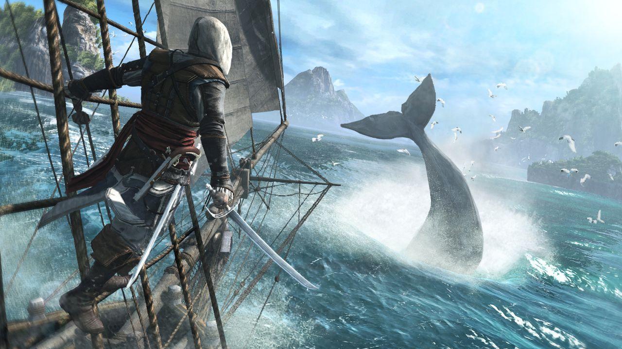 Assassin's Creed 4 Easter Egg - Giant Squid