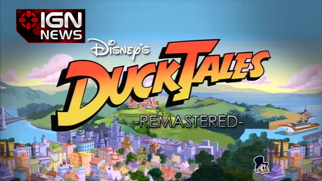 News DuckTales Remastered Coming to PSN, XBLA, Wii U