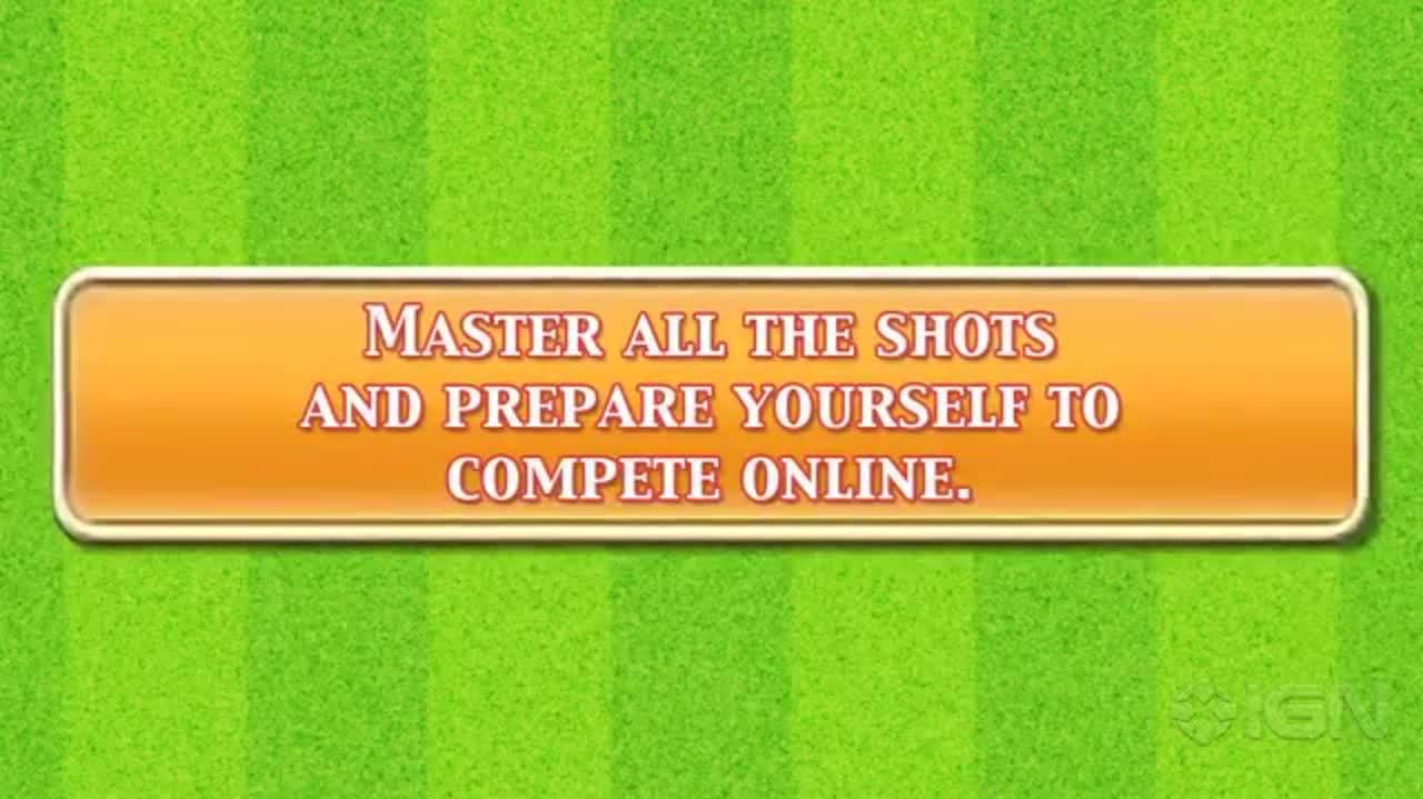 Mario Tennis Open - Special Games Trailer