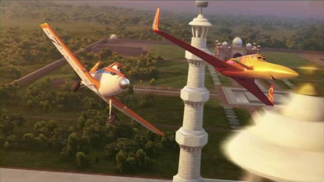 Planes - Dusty Flies To The Taj Mahal (Clip)