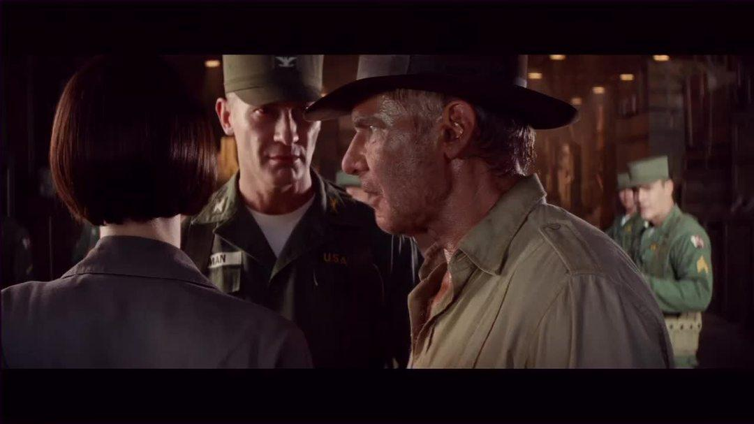 "Indiana Jones And The Kingdom Of The Crystal Skull - Clip ""The Warehouse"""