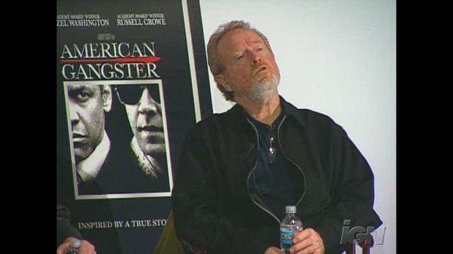 American Gangster (3-Disc Ultimate Edition) DVD Interview - Ridley Scott Q&A