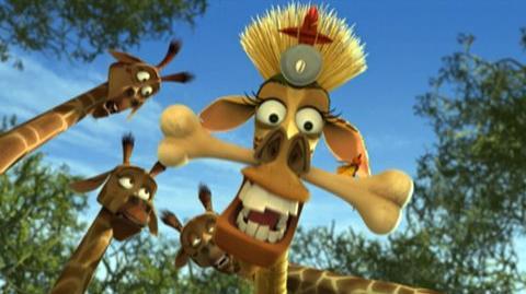 Madagascar Escape 2 Africa (2008) - Clip Witch doctors disease
