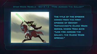 """Star Wars Rebels S01E13 """"Fire Across the Galaxy"""" - Fan Brain"""