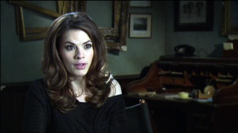 """Captain America The First Avenger (2011) - Interview """"Hayley Atwell On What Drew Her To The Character Peggy"""""""
