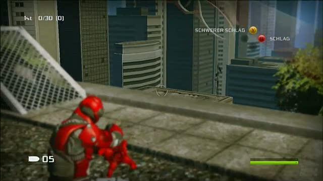 Bionic Commando Xbox 360 Gameplay - Suicide