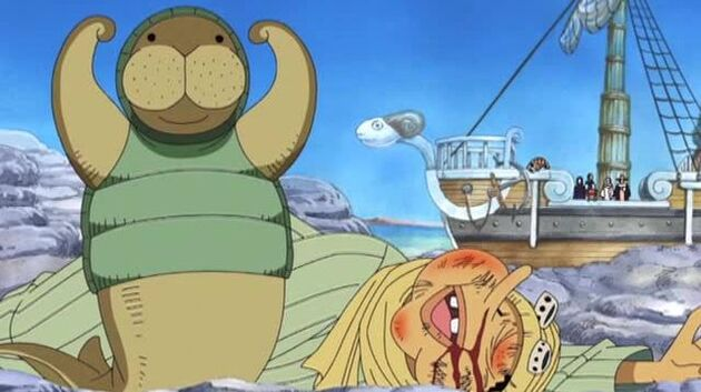 One Piece - Episode 96 - Erumalu, the City of Green and the Kung Fu Dugongs!