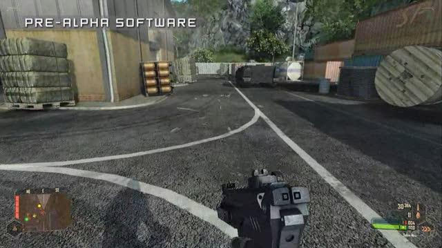 Crysis Warhead PC Games Gameplay - Close Quarters Combat (HD)