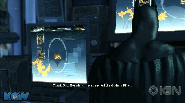 Batman Arkham Asylum Video Guide-Walkthrough - BAA - Caves - To The Batcave