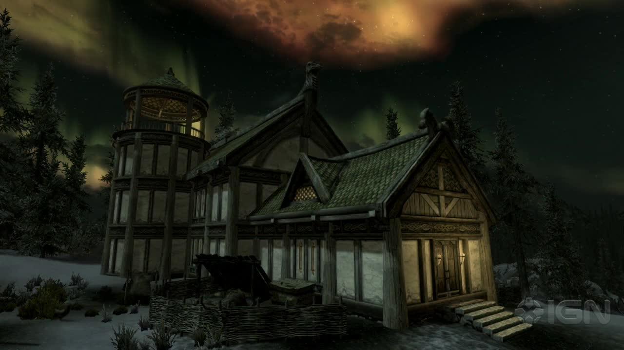 The Elder Scrolls V Skyrim Hearthfire Announcement Trailer
