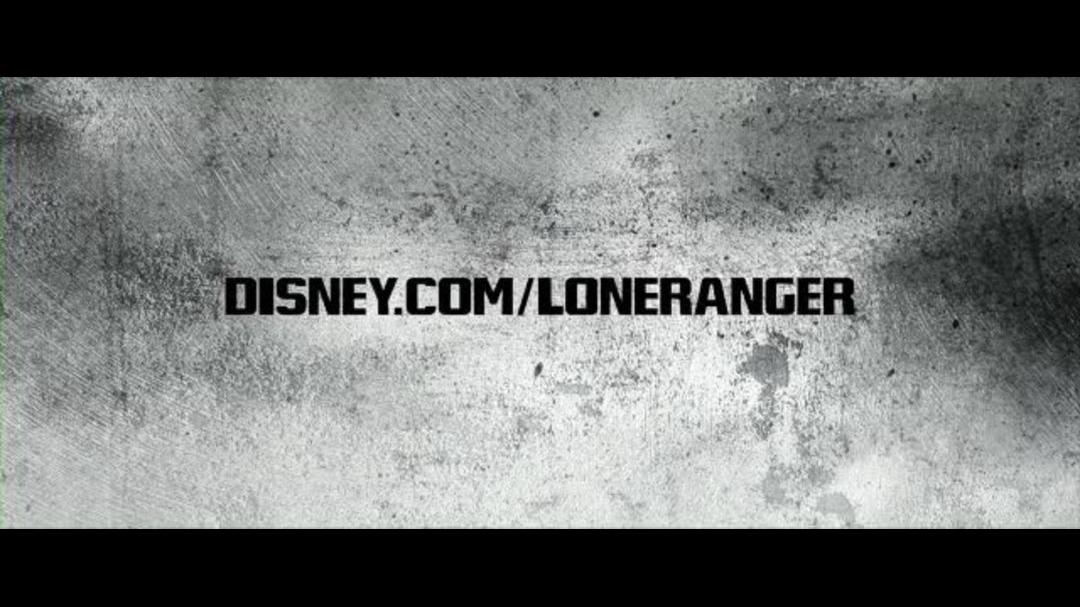 The Lone Ranger Super Bowl Teaser