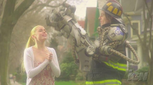 Bionic Commando Xbox 360 Trailer - Bionic Fireman