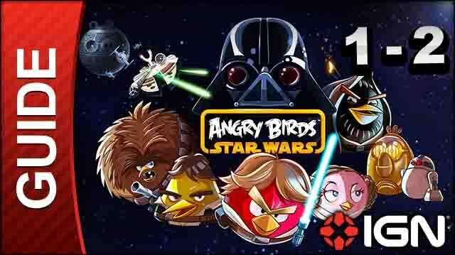 Angry Birds Star Wars Tatooine Level 2 3-Star Walkthrough