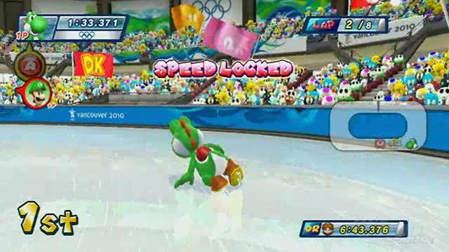Mario & Sonic at the Olympic Winter Games Nintendo Wii Review - Video Review
